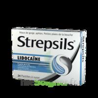 Strepsils Lidocaïne Pastilles Plq/24 à Saint-Chef