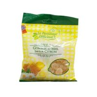 Le Pastillage Officinal Gomme miel citron Sachet/100g à Saint-Chef