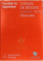 Citrate De Betaïne Cristers 10 % Granulés Sachet/250g à Saint-Chef