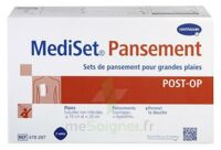 MediSet® set de pansement Post Op avec coupe-fil Pour grandes plaies - Boîte de 3 soins à Saint-Chef