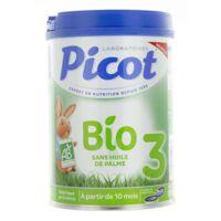 Picot Bio 3 Lait En Poudre 800g à Saint-Chef