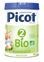 Picot 2 Bio Lait En Poudre 800g à Saint-Chef