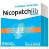 Nicopatchlib 14 Mg/24 H Dispositifs Transdermiques B/28 à Saint-Chef