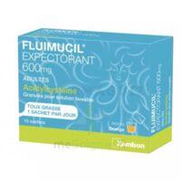 Fluimucil Expectorant Acetylcysteine 600 Mg Glé S Buv Adultes 10sach à Saint-Chef