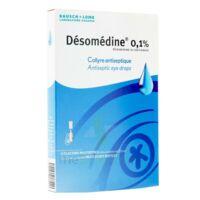 Desomedine 0,1 % Collyre Sol 10fl/0,6ml à Saint-Chef