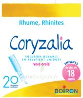 Boiron Coryzalia Solution Buvable Unidose B/20 à Saint-Chef