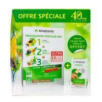Arkofluides Programme Minceur Bio 30 ampoules/10ml + Arkogélules Konjac B/45 Offre spéciale 40 ans de santé naturelle à Saint-Chef