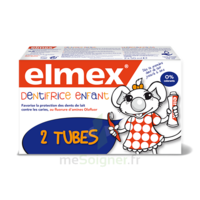 ELMEX DUO DENTIFRICE ENFANT, tube 50 ml x 2 à Saint-Chef