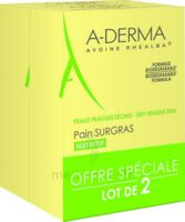 Aderma Les Indispensables Pain Surgras Duo 2x100g