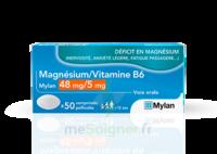 Magnesium/vitamine B6 Mylan 48 Mg/5 Mg, Comprimé Pelliculé à Saint-Chef