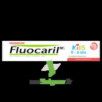 Fluocaril Kids Dentifrice Fraise 0-6 Ans T/50ml à Saint-Chef